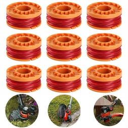 12-pack Replacement Spool Line For WORX WA0010 For Grass Tri