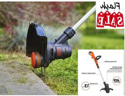 13in Black+Decker Corded Electric String Trimmer Weed Eater