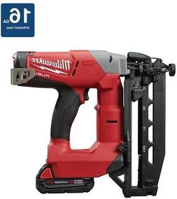 Milwaukee 2741-21CT 18-Volt 16-Gauge FUEL Straight Finish Na