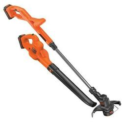 Black and Decker LCC222 20-Volt Stringer Trimmer/Edger and S