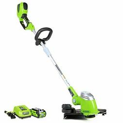 Greenworks 21302 40V GMAX Cordless Lithium-Ion 13 in. Straig