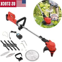 24V Electric Cordless String Trimmer Weed Eater Lawn Wacker