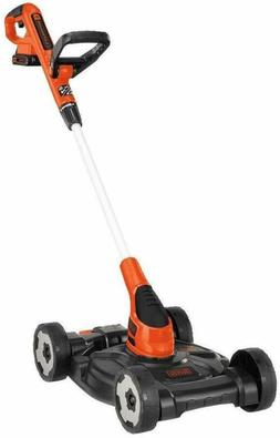 3-in-1 Lawn Mower, String Trimmer and Edger, 12-Inch 3 tools