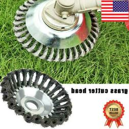 6'' Pavement Surface Grass Trimmer Weed Blade Wired String