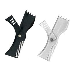 Adjustable Beard Mmodeling Tool Trim Styling Comb Trimmer Be