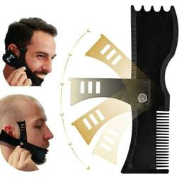 Adjustable Beard Mmodeling Tool Trim Styling Comb Trimmer Ed