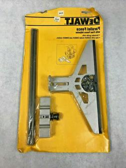 DEWALT DW6912 Parallel Fence Router Edge Guide with Fine Fen