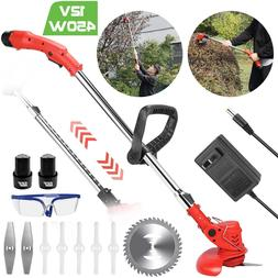 Electric Grass Trimmer Weed Eater Edger Lawn Mower Cordless