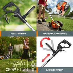 electric lawn edger trencher adjustable shaft d