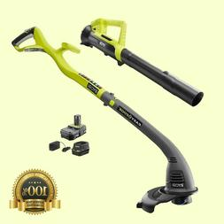 electric weed eater string trimmer edger blower