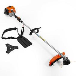 Gas Trimmer Grass String Edger Weed Eater Wacker Straight Sh