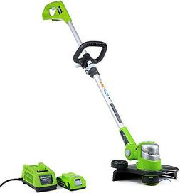 Grass Trimmer Edger 12 Cordless Battery Operated String w/ B