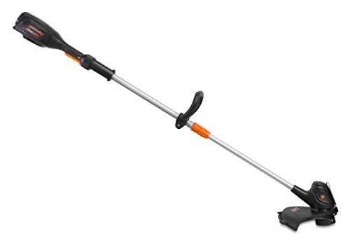 WEN 40413 Lithium-Ion Cordless 14-Inch 2-in-1 String Trimmer with Battery and Charger