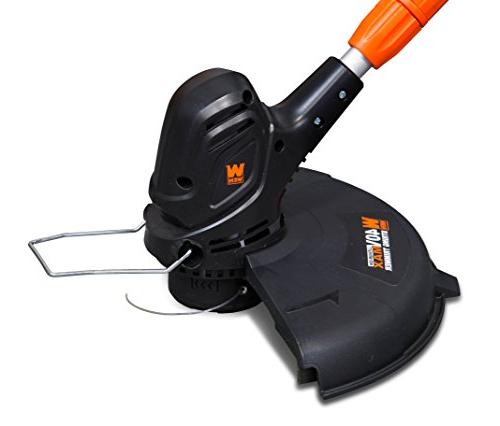 WEN 40413 40V Lithium-Ion Cordless 14-Inch String Trimmer and with 2Ah Charger