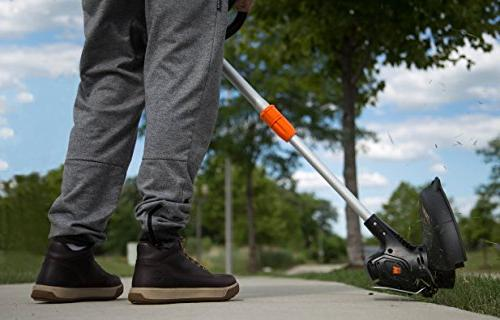 WEN Lithium-Ion Cordless String Trimmer Edger with 2Ah Charger