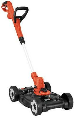 BLACK+DECKER MTE912 12' 3-in-1 Electric Trimmer, Edger and M