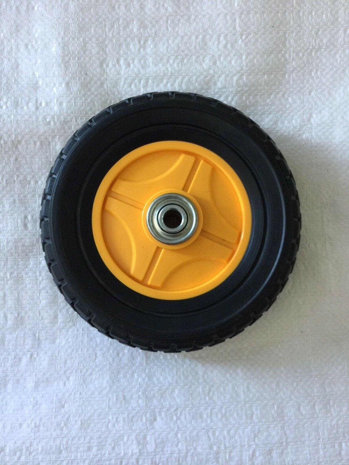 """Mclane Edger 7"""" Front Wheel Complete with Bearings Replaces"""