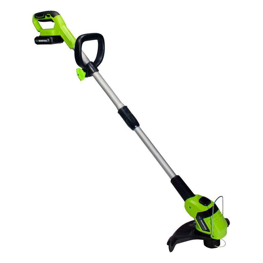 Weed Eater Cordless String Trimmer With 2 Ah Battery and Cha