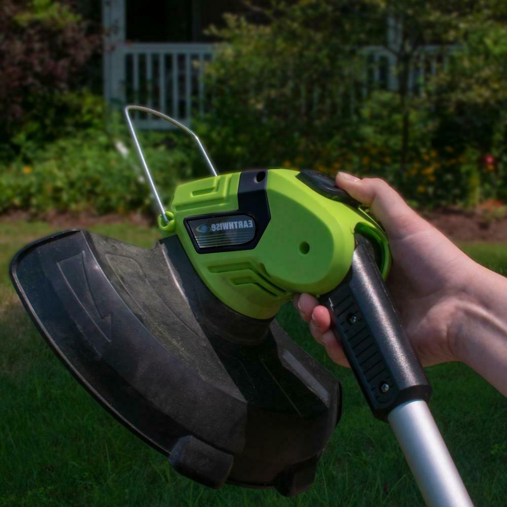 Weed Trimmer 2 Battery and Charger 10