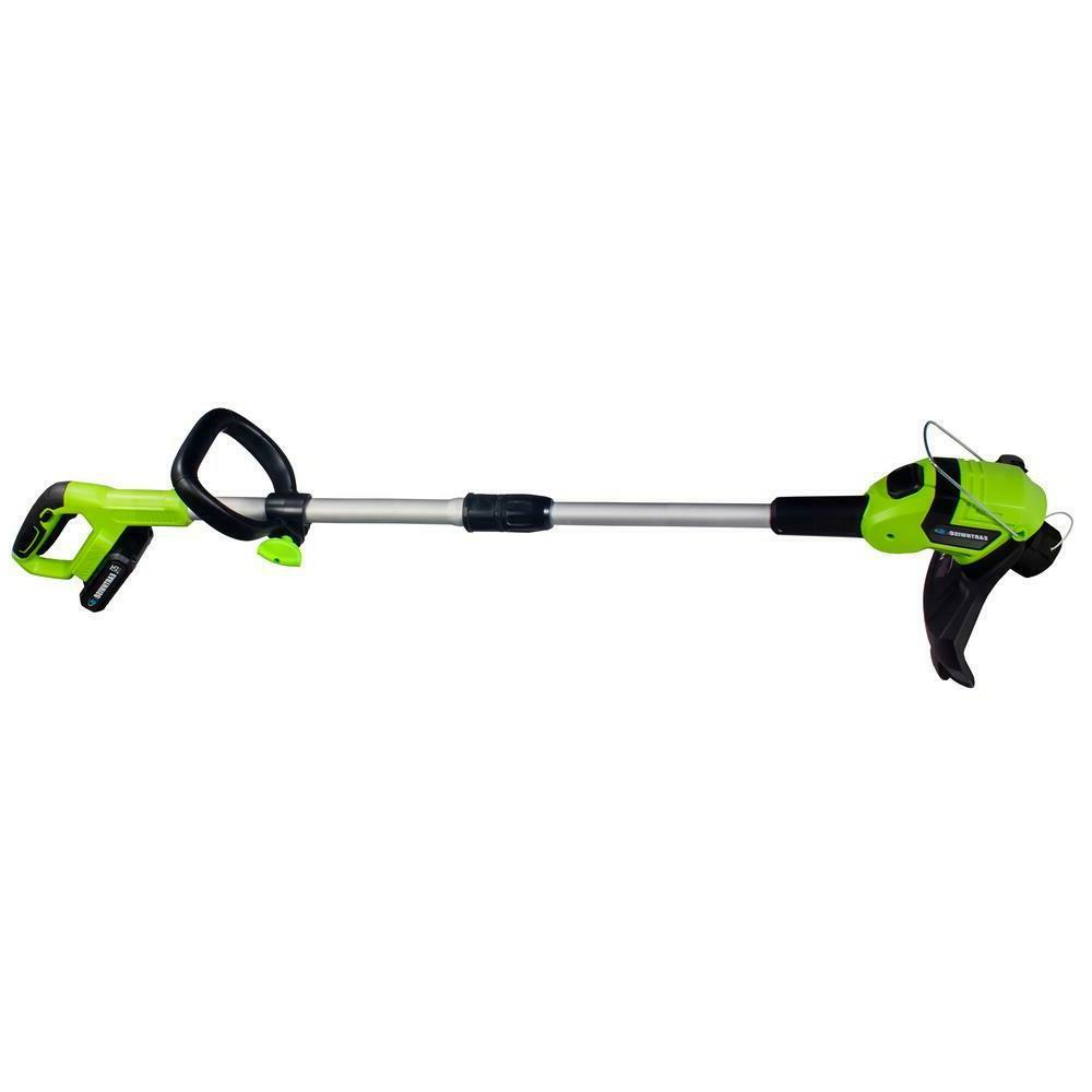 Weed Eater Cordless Trimmer With Battery and Charger 10 Inch