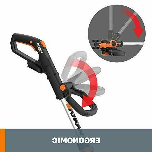"""WORX WG163.9 Grass Trimmer/Edger with Command Feed, 12"""" ONLY"""