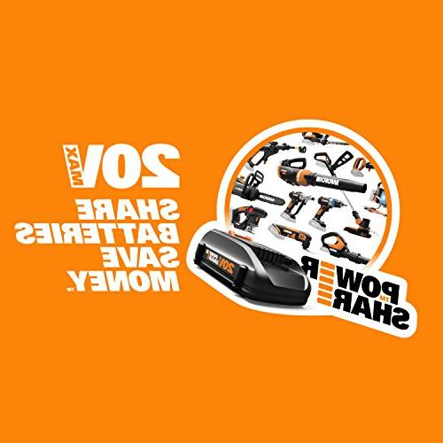 Worx GT 20V 2 Batteries Charger Included