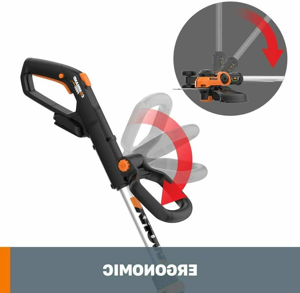 """Worx 12"""" Cordless Powerful Grass Weeds Lawn Eater"""