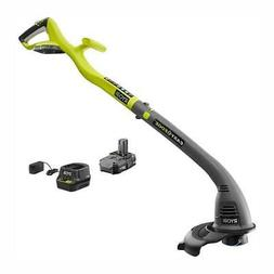 ONE+ 18-Volt Lithium-Ion Electric Cordless String Trimmer an