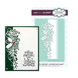 Creative Expressions - Paper Cuts Collection Holly Berry Edg