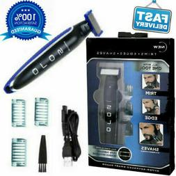 Solo Men's USB Rechargeable Trimmer Micro Razor Hair Shaver