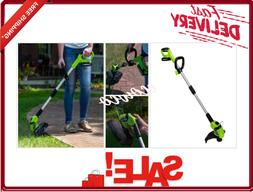 weed eater cordless string trimmer with 2
